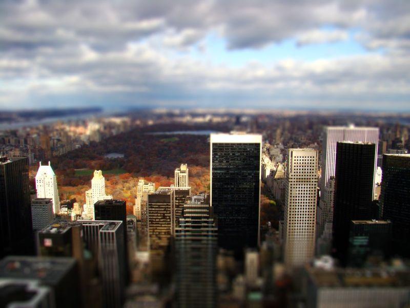 Central Park, New York, US, winter