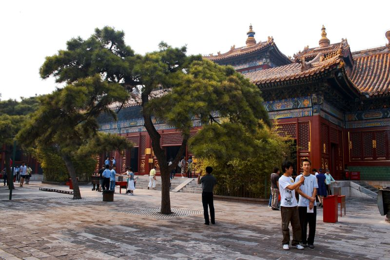 Lama Temple, Beijing, travel, China