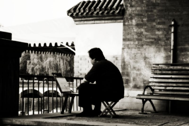 Forbidden City, Artist, China, Beijing, travel