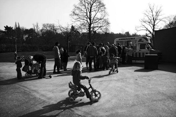 cannon hill, park, birmingham, ice cream