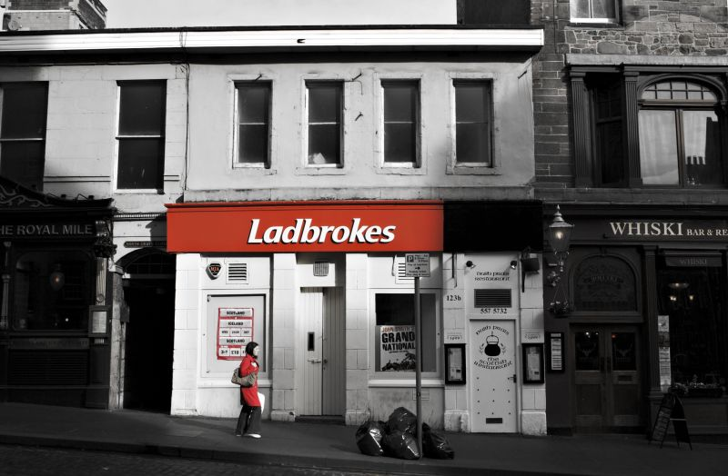 Ladbrokes, Edinburgh, scotland, travel