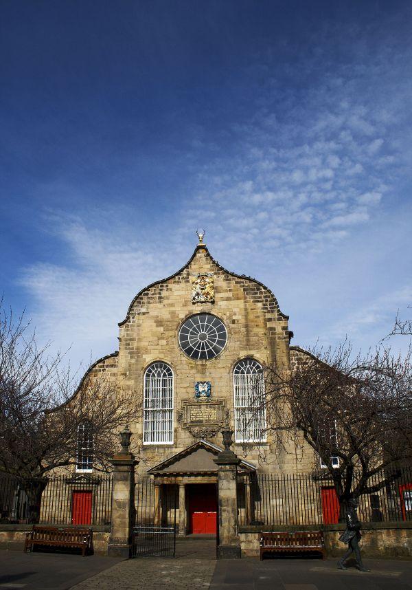 Kirk of the Canongate, Edinburgh, Scotland