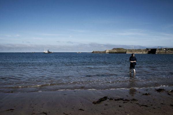 St Abb's head, scotland, travel, sea