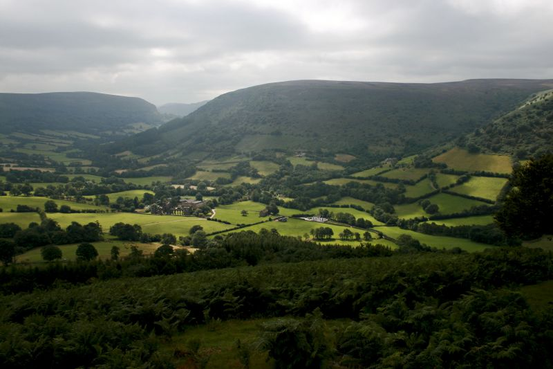llanthony priory, Wales, travel