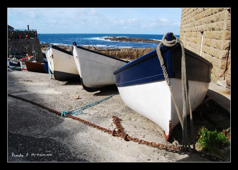 boats at Sennen, Cornwall
