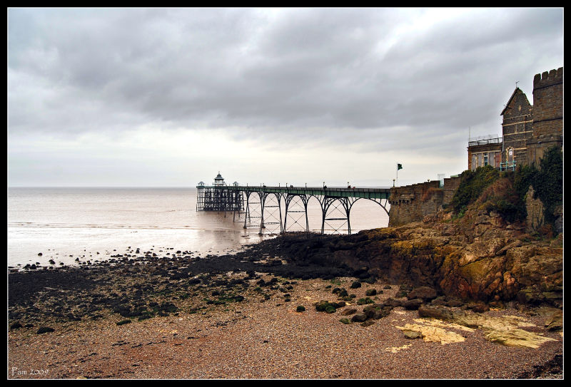 Another shot of Clevedon Pier
