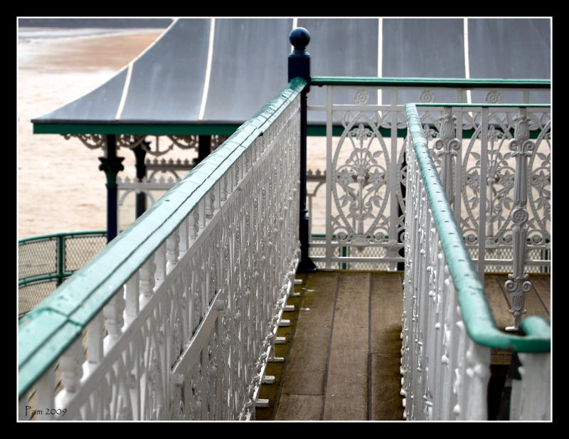 stairs on pier