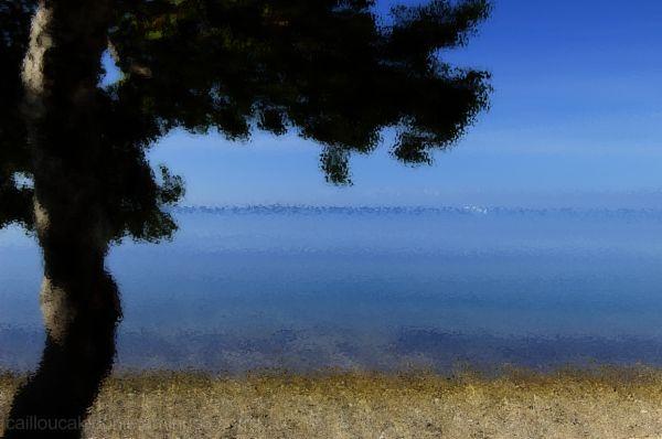 bord de mer pictural en Calédonie