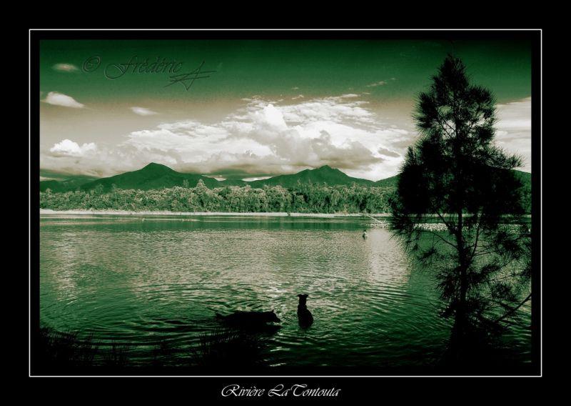 La rivière La Tontouta en Nouvelle Calédonie