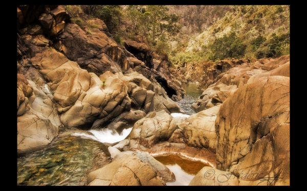 La rivière Dumbéa Nord en Nouvelle Calédonie