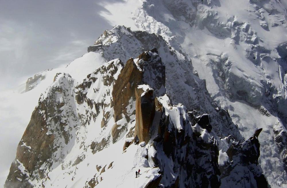 Au pied du Mont Blanc