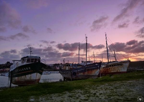 Epaves de langoustiers / Lobster shipwrecks