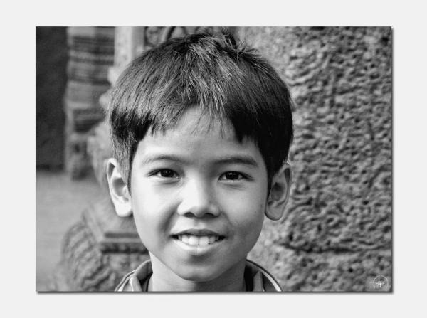 L'enfant du temple Bantey Srei