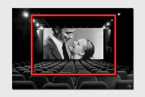 Frame in a frame on César and Rosalie