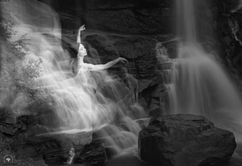 La fée de la cascade / The fairy of the waterfall