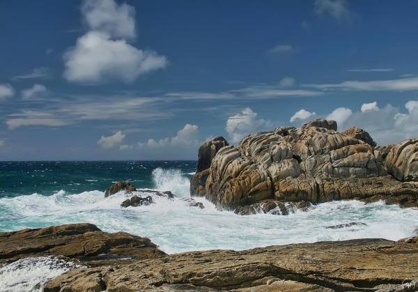 Les rochers de Saint-Guénolé