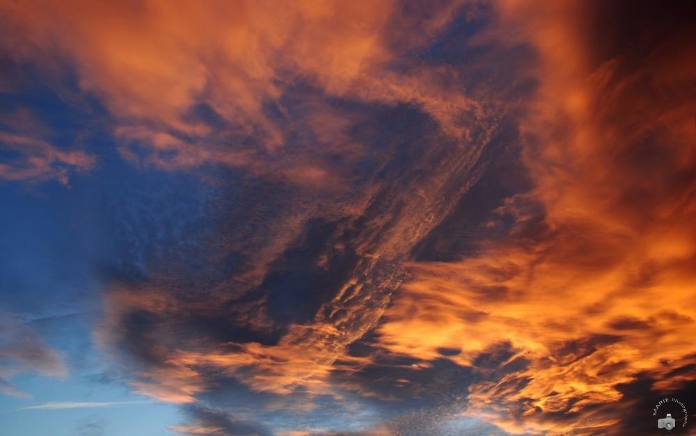 Les flammes du ciel  / The flames of the sky