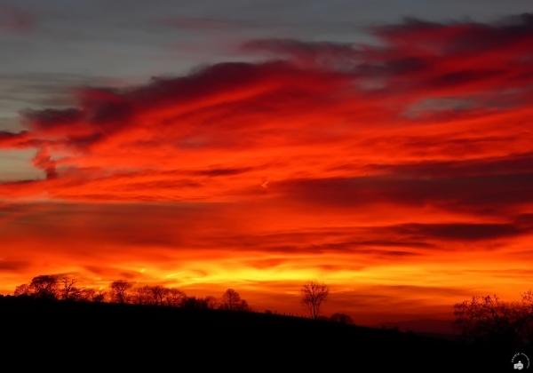 Ciel de feu / Fire sky