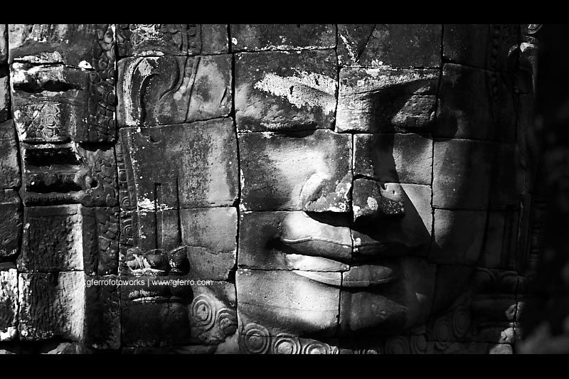 Smiling face of Bayon