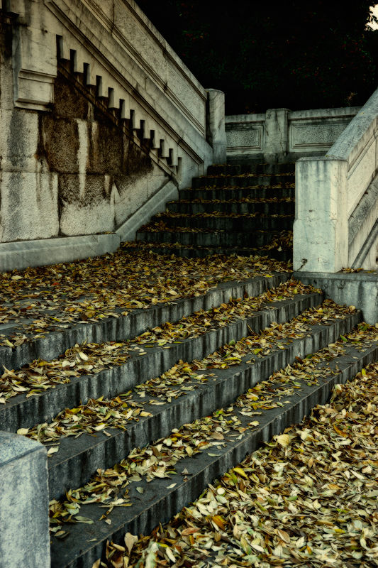escalier mortuaire