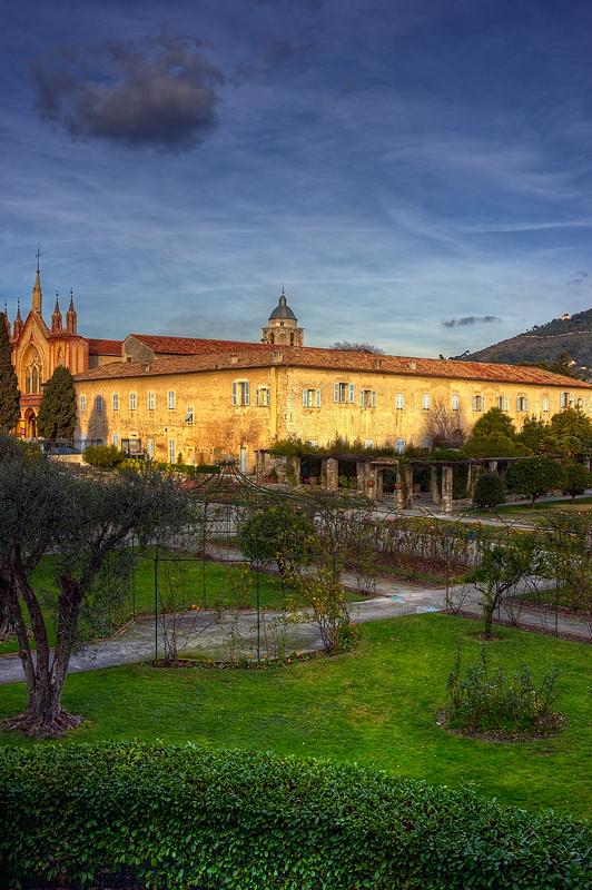 après-midi au monastère