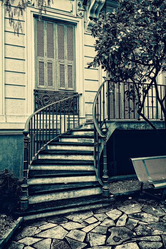 escalier clos