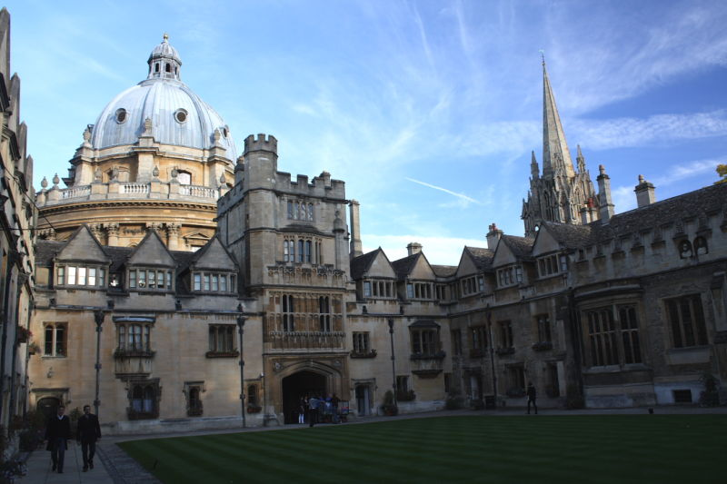 Brasenose College and the Radcliffe Camera