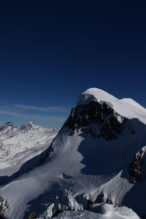 Mountain peak in Switzerland.