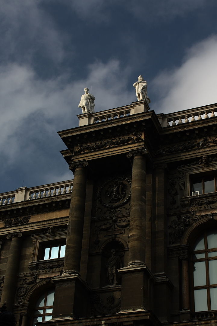 Statues in Vienna, Austria.