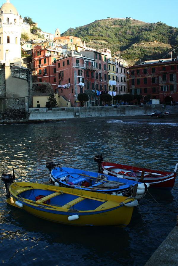 Fishing boats in Italy.