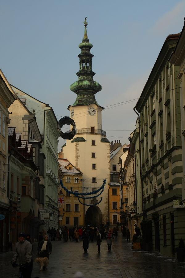 Cathedral in bratislava, slovakia.