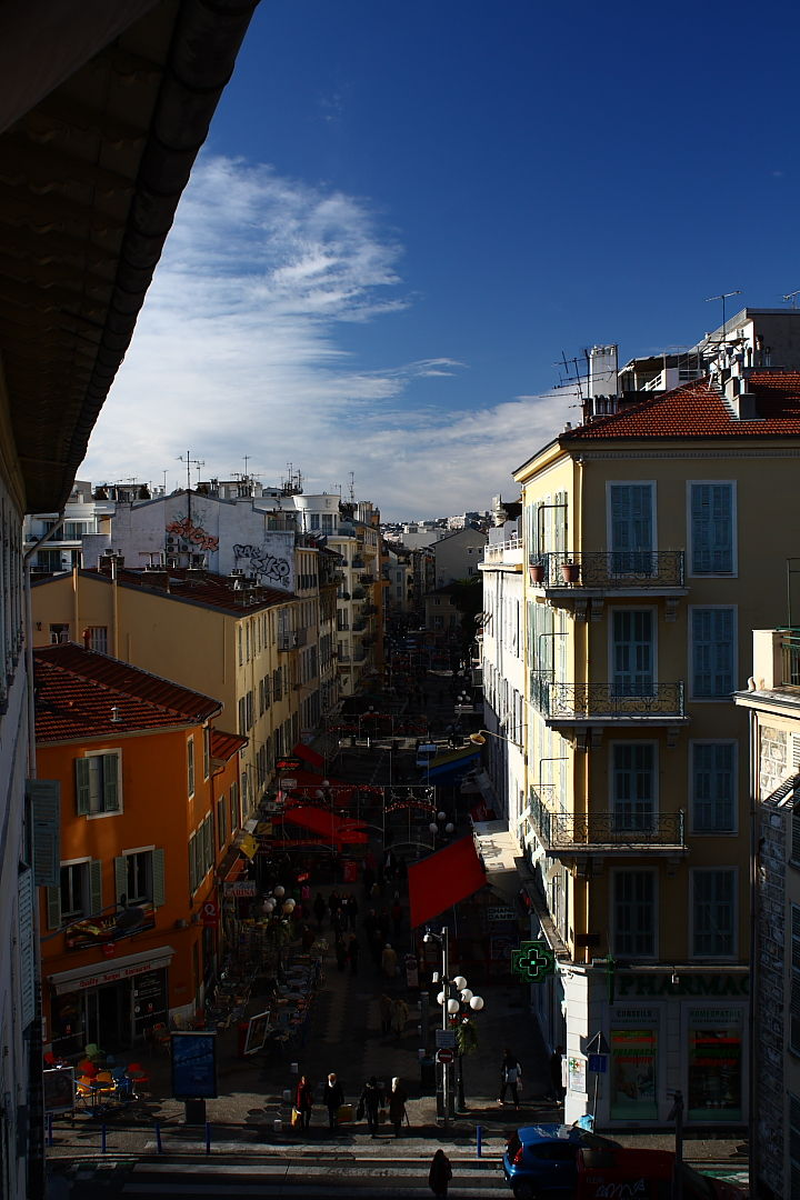 View of Nice, France.