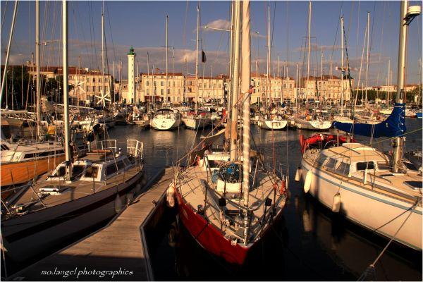 Dans le port de La Rochelle