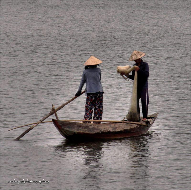 Un matin de pêche