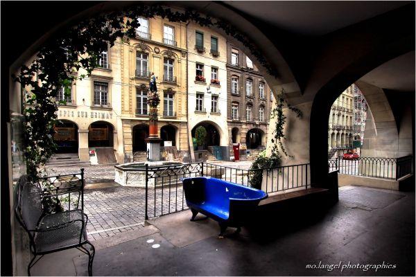 Sous les arcades de Berne