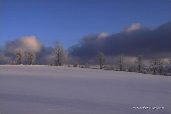 Lumière d'un jour de janvier