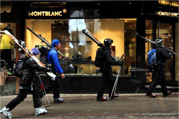A l'assaut du Mont-Blanc