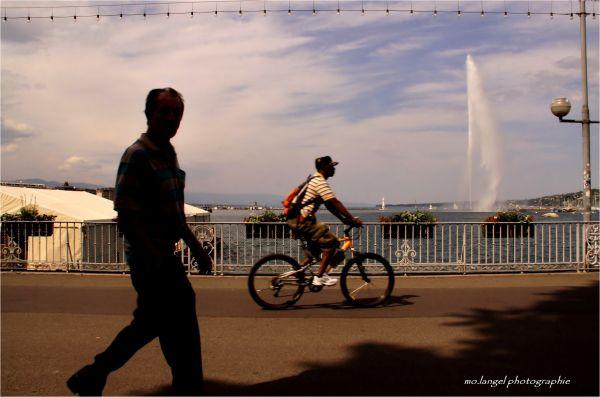 A pied, à vélo ou en bateau