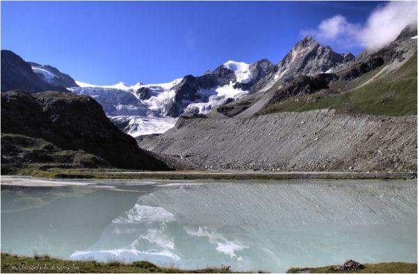 Reflets du glacier