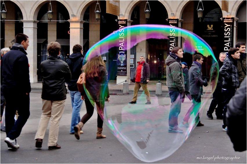 Mettre en bulle