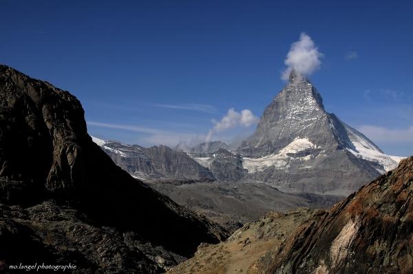 La montagne a mis son petit bonnet