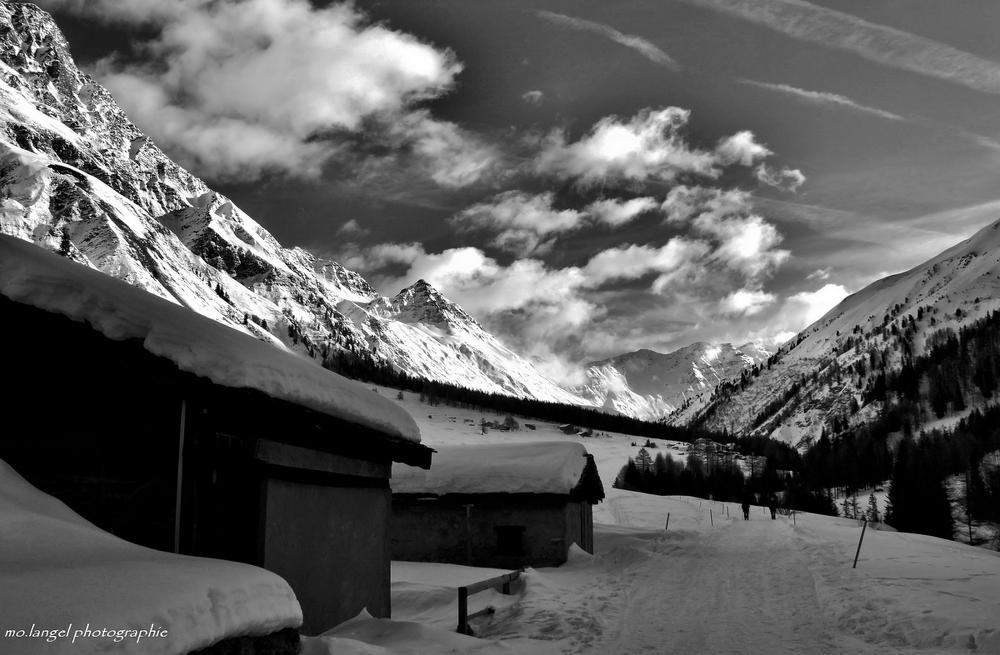 Vers le dernier village de la Vallée