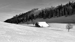 La maison dans la neige