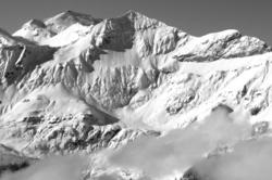 La montagne sous son blanc manteau