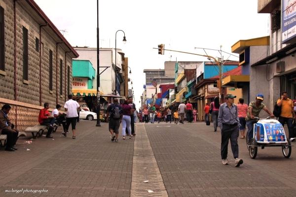 Dans les rues de San José