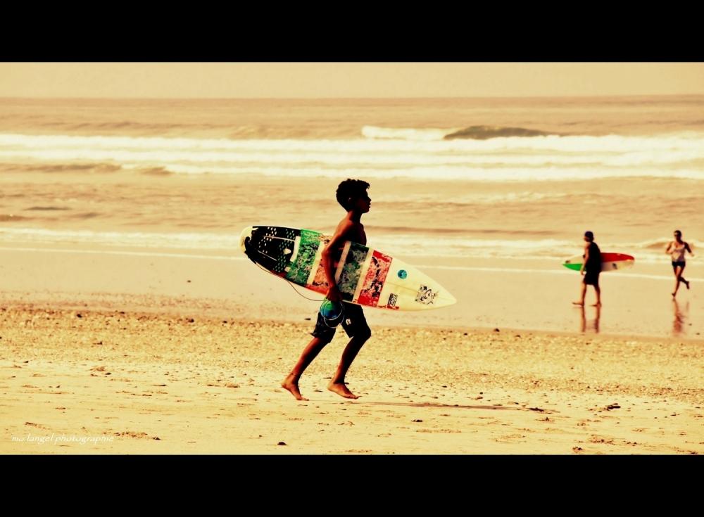 Surfer boy