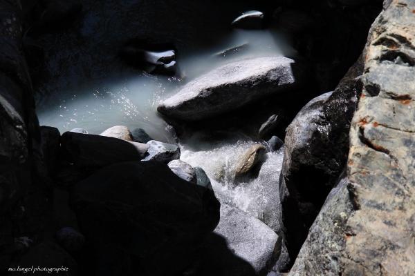 L'eau du glacier