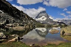 Le miroir de la montagne