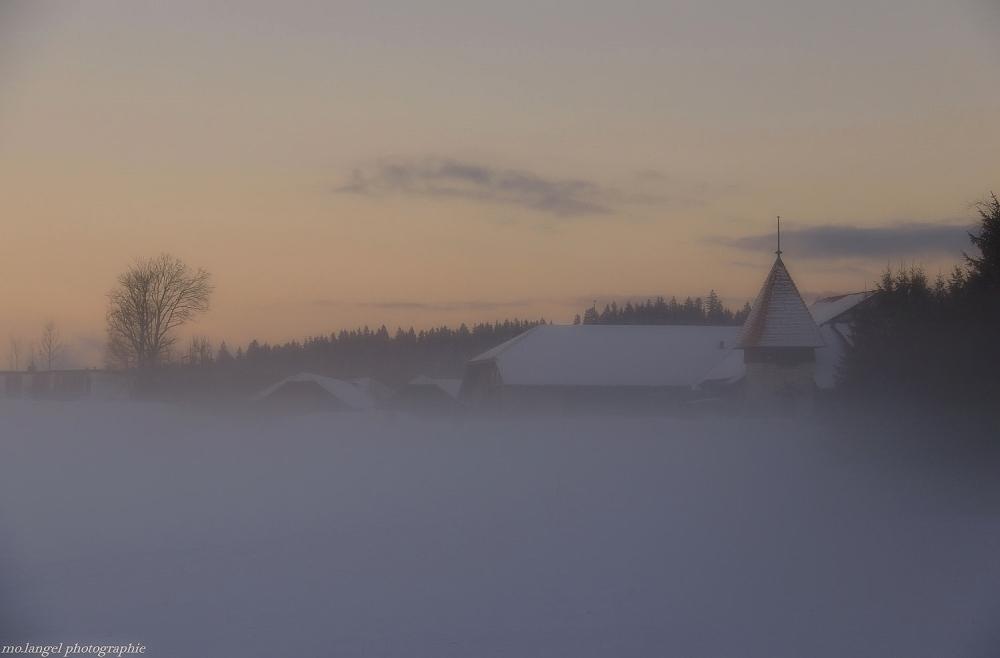 Le village dans la brume #2