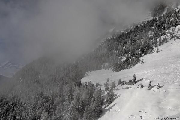 Le souffle de la montagne